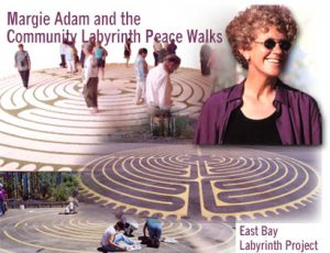 Margie Adam and the Community Peace Labyrinth Peace Walks 09/16/2003