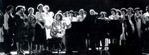 Constitution Hall concert with leaders of 80 National Women's Organizations ERA ratification deadline July 1, 1982