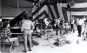 Women at work - Michigan Womyn's Music Festival 1983