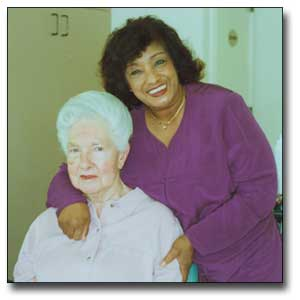 Harriet McCollum and Alma Davis