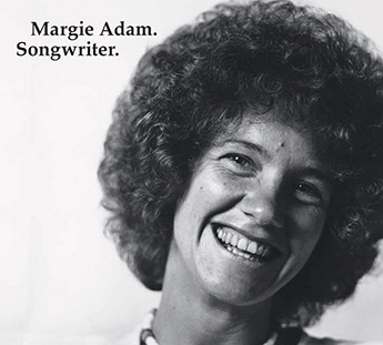 Margie Adam. Songwriter. CD cover