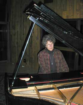 Margie Adam Rehearsing