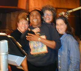 The BGs - Sue, Melanie, Margie and Freyda