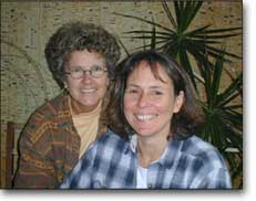 Margie Adam with Kerry Lobel