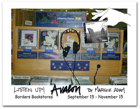 Borders Postcard